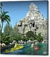 Matterhorn And The Sub Canvas Print
