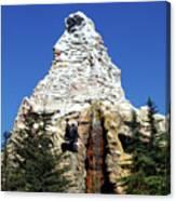 Matterhorn Disneyland Canvas Print