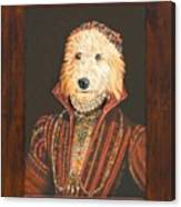 Mattie As A Noblewoman Canvas Print