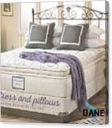 Mattress And Pillows Canvas Print