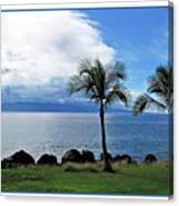 Maui Clouds Canvas Print
