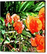 Maui Floral Canvas Print