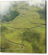 Maui Haleakala Crater Canvas Print