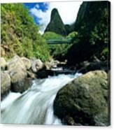 Maui, Iao Needle Canvas Print