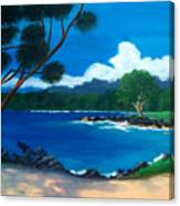 Maui Inlet Canvas Print