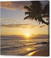 Maui, Kaanapali Beach Canvas Print