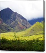 Maui Mountains Canvas Print