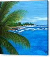Maui Palm Canvas Print