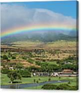 Maui Rainbow Canvas Print