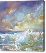 Maui Riptide Canvas Print