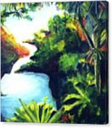 Maui Seven Sacred Falls #184 Canvas Print