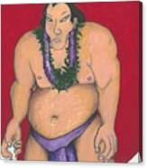 Maui Sumo Canvas Print