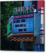 Maumee Movie Theater I Canvas Print