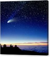Mauna Kea Telescopes Canvas Print