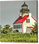 Maurice River, New Jersey, East Pointe  Lighthouse Canvas Print