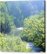 Maury River Canvas Print