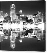 Maxed Cityscape Canvas Print
