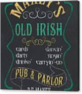 Maxey's Old Irish Pub Canvas Print