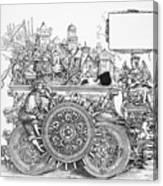 Maximilian I 1459-1519 Canvas Print