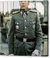 Maximilian Schell As Capt. Stransky Cross Of Iron Publicity Photo 1977 Canvas Print