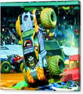 Maximum Destruction Freestyle Canvas Print