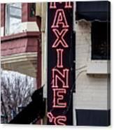 Maxine's Saloon Canvas Print