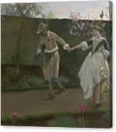 May Day Morning Canvas Print
