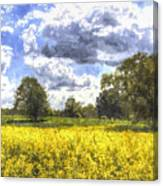 May Farm Art Canvas Print