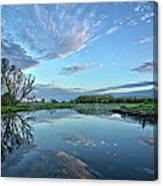 May Reflections Canvas Print