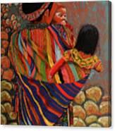 Mayan Family Canvas Print