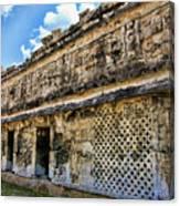 Mayan Graffiti  Canvas Print
