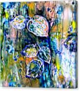 Mayan Memory Canvas Print