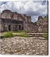 Mayan Ruins 1 Canvas Print