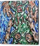 Mayan Snake King Missing Dynasties Canvas Print