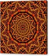Mayan Sun God Canvas Print