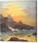 Mayan Sunset Canvas Print