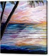 Mayaro Dawn Canvas Print