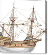 Mayflower Canvas Print