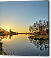Maynes Grove Spring Rise 2 Canvas Print