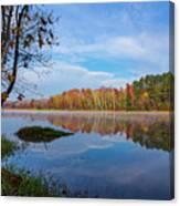 Mayor's Pond, Autumn, #1 Canvas Print