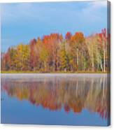 Mayor's Pond, Autumn, #2 Canvas Print