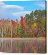 Mayor's Pond, Autumn, #4 Canvas Print
