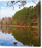 Mayor's Pond, Autumn, #7 Canvas Print
