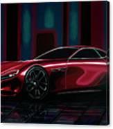 Mazda Rx Vision 2015 Painting Canvas Print
