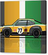 Mazda Savanna Gt Rx3 Racing Yoshimi Katayama 1975 Canvas Print