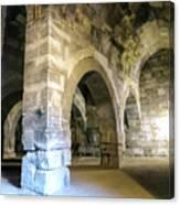 Maze Of Arches Canvas Print
