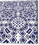 Maze Pattern Canvas Print