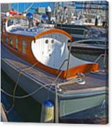 Mb 172 Epic Lass In Darling Harbour Canvas Print