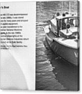 Mb 172 Epic Lass Information Canvas Print