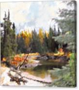 Mccall Landscape Canvas Print